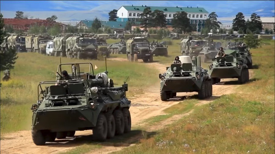 Nga huy động 'cỗ máy quân sự khổng lồ' 1