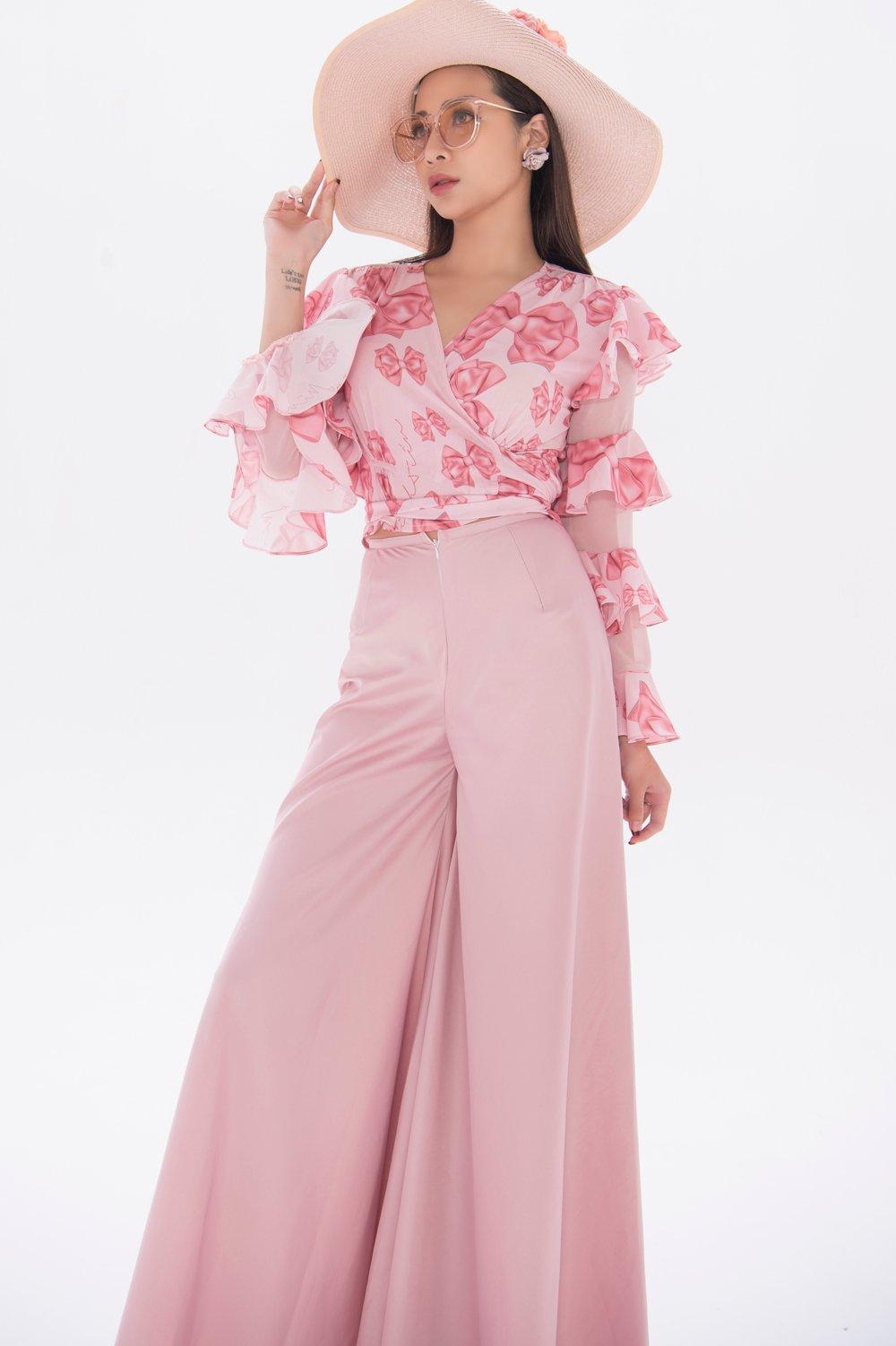 NTK Cao Minh Tiến lăng xê vẻ đẹp nữ tính, mềm mại trong bộ sưu tập mới  4