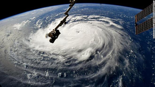 CNN: 4 yếu tố biến Florence trở thành siêu bão khó lường, mạnh nhất trong gần 3 thập kỷ 1