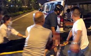 Hình ảnh Nam thanh niên bị chém đứt lìa cổ tay vì đưa người bị thương đi cấp cứu số 1