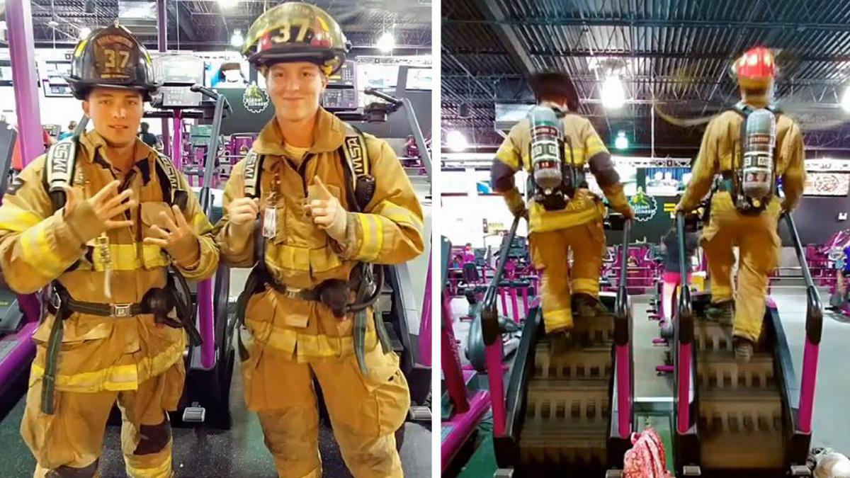 Lính cứu hỏa đi 110 bước để tưởng nhớ ngày 11/9 2