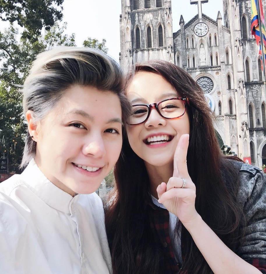 Hình ảnh Khẳng định yêu Kiều Minh Tuấn, An Nguy bị phát hiện đã có người tình đồng giới ở Mỹ? số 2