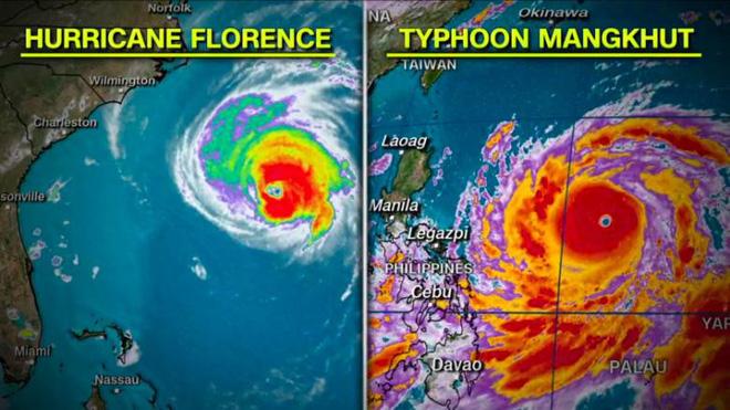 Siêu bão Mangkhut có thể đe dọa 10 triệu người, Philippines sơ tán khẩn cấp 2