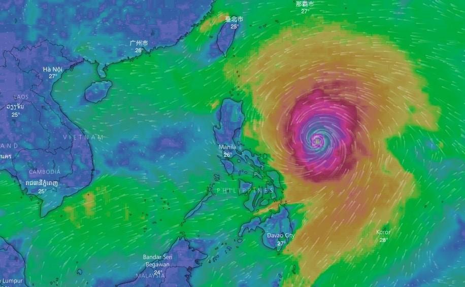 Siêu bão Mangkhut có thể ảnh hưởng trực tiếp đến 27 tỉnh thành, Quảng Ninh là trọng điểm - Ảnh 1.