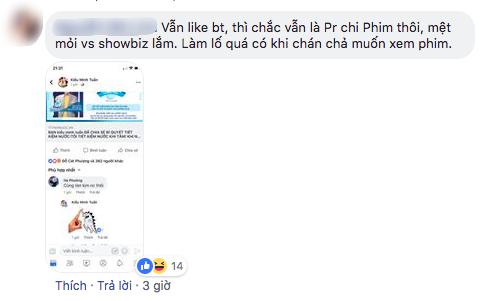 """Dư luận đặt nghi vấn clip An Nguy khóc thừa nhận chuyện tình cảm với Kiều Minh Tuấn là """"chiêu quảng bá phim"""" 2"""