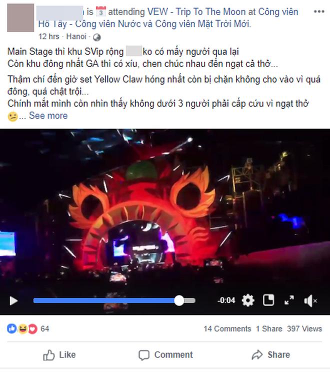 Người chứng kiến nạn nhân nằm bất động tại lễ hội âm nhạc: 'Không gian ngột ngạt, không đủ sức chứa số lượng lớn người tham gia' 1