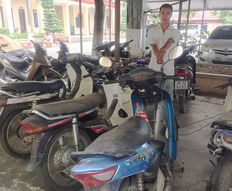 Hà Nội: Hai thanh niên nghiện ma túy kéo xe cải tiến đi trộm tài sản 2