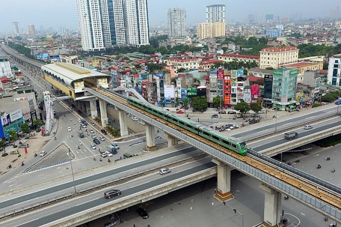 Toàn tuyến đường sắt Cát Linh - Hà Đông bước vào giai đoạn vận hành thử từ 20/9 2