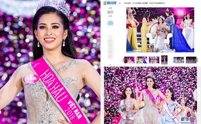 Giải trí - Báo Trung Quốc khen ngợi Trần Tiểu Vy, cư dân mạng nhận định lọt Top 5 Miss World