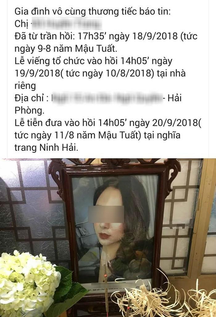 Hot girl Hải Phòng qua đời vì ung thư ở tuổi 26 khiến dân mạng xót xa 1