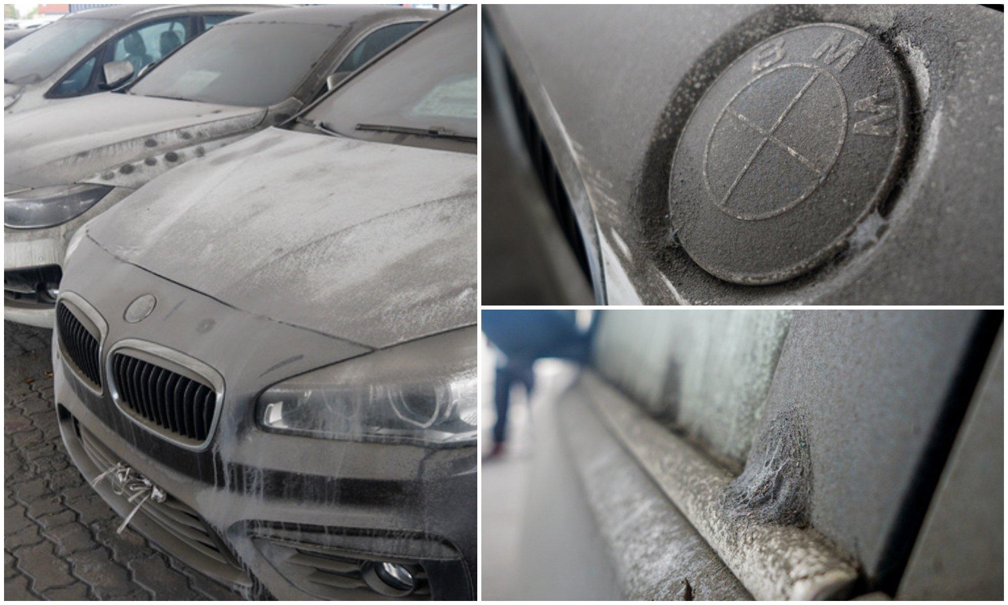Sau 2 năm phơi nắng ngoài cảng, dàn xe BMW hơn 3 triệu USD trong vụ buôn lậu bị xuống cấp 2