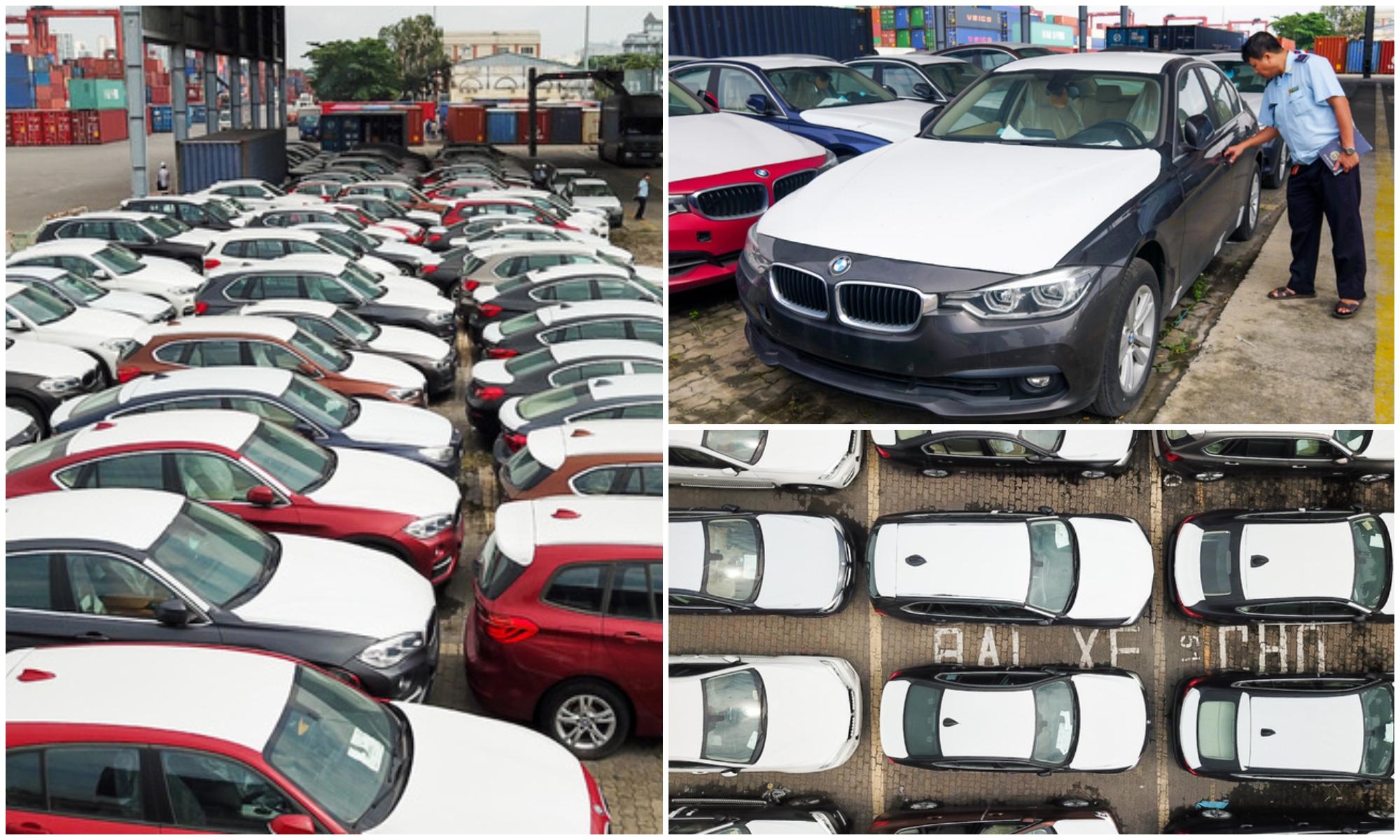 Sau 2 năm phơi nắng ngoài cảng, dàn xe BMW hơn 3 triệu USD trong vụ buôn lậu bị xuống cấp 1