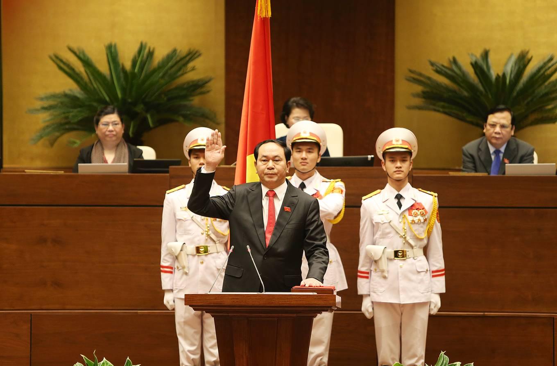 Những hình ảnh ấn tượng của Chủ tịch nước Trần Đại Quang qua các sự kiện 3