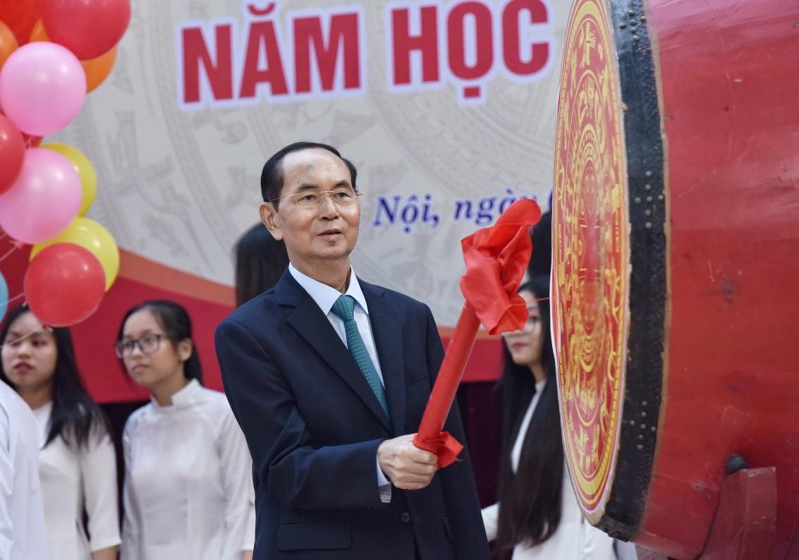 Những hình ảnh ấn tượng của Chủ tịch nước Trần Đại Quang qua các sự kiện 10