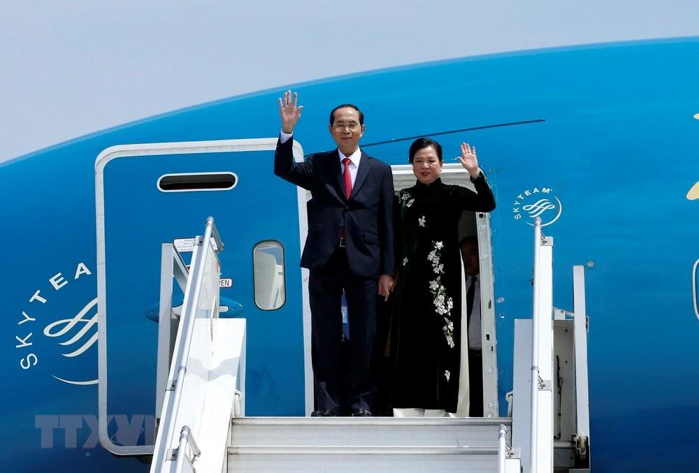 Chuyến thăm nước ngoài cuối cùng của Chủ tịch nước Trần Đại Quang 1