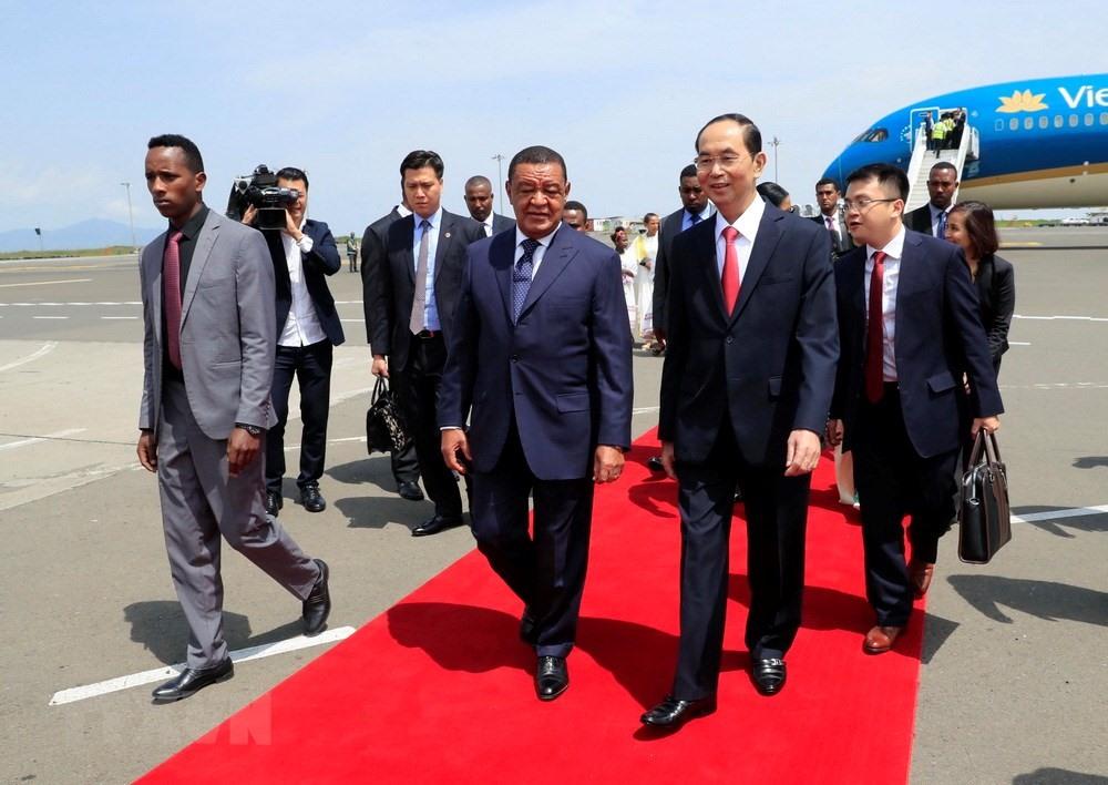 Chuyến thăm nước ngoài cuối cùng của Chủ tịch nước Trần Đại Quang 2