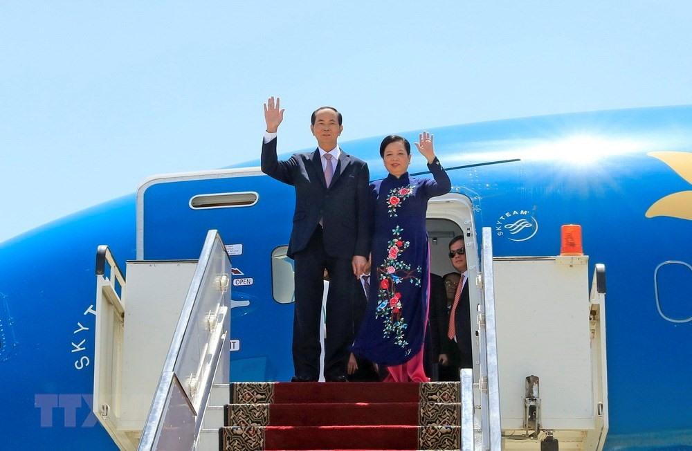 Chuyến thăm nước ngoài cuối cùng của Chủ tịch nước Trần Đại Quang 3