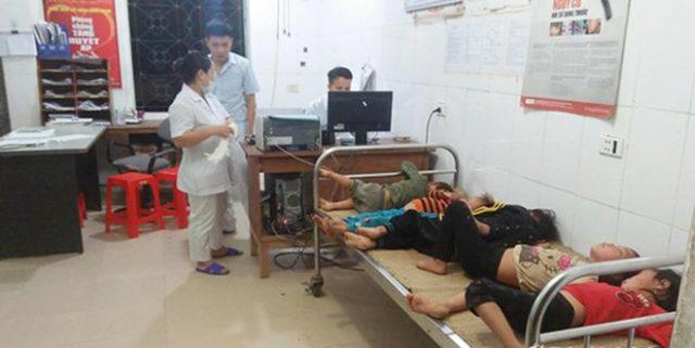 7 người ở Nghệ An nhập viện cấp cứu vì bị ong đốt khi thu hoạch lúa 1