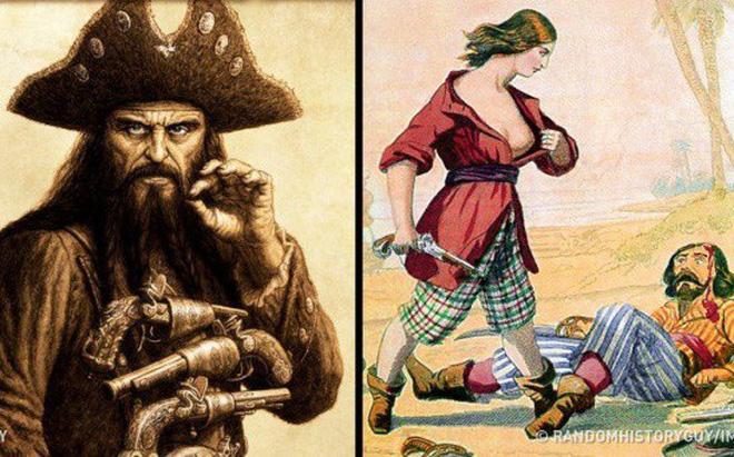 Hình ảnh Sự thật kỳ lạ về cướp biển: Đeo bịt mắt không phải vì chột, có cả bảo hiểm y tế ngàn đô số 1