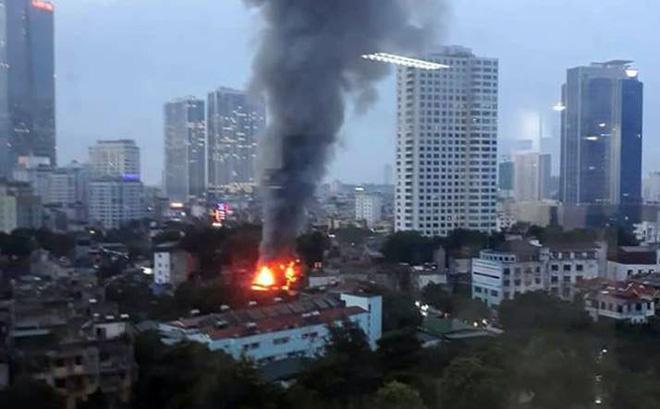 Hà Nội lập hồ sơ khởi tố vụ cháy gần Bệnh viện Nhi Trung ương 1