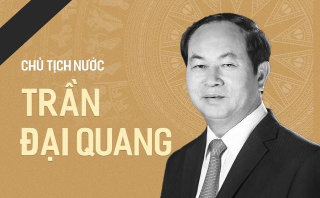 Các đoàn viếng Chủ tịch nước Trần Đại Quang chỉ mang băng tang, không mang vòng hoa 1
