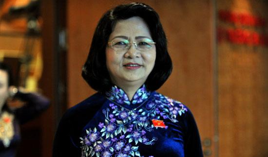Tóm tắt tiểu sử quyền Chủ tịch nước Đặng Thị Ngọc Thịnh 1