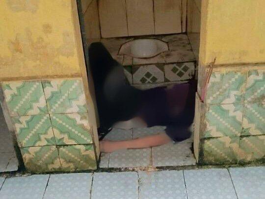 Vừa đi học về, con gái tá hỏa phát hiện mẹ tử vong trong nhà vệ sinh 1