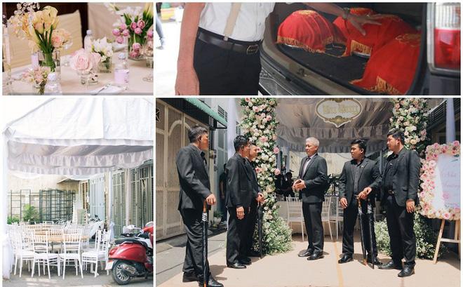 Toàn cảnh lễ rước dâu của Trường Giang - Nhã Phương: Mẹ cô dâu khóc, 6 vệ sĩ xuất hiện 1