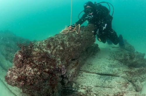 Phát hiện xác tàu buôn 400 năm dưới đáy đại dương 2