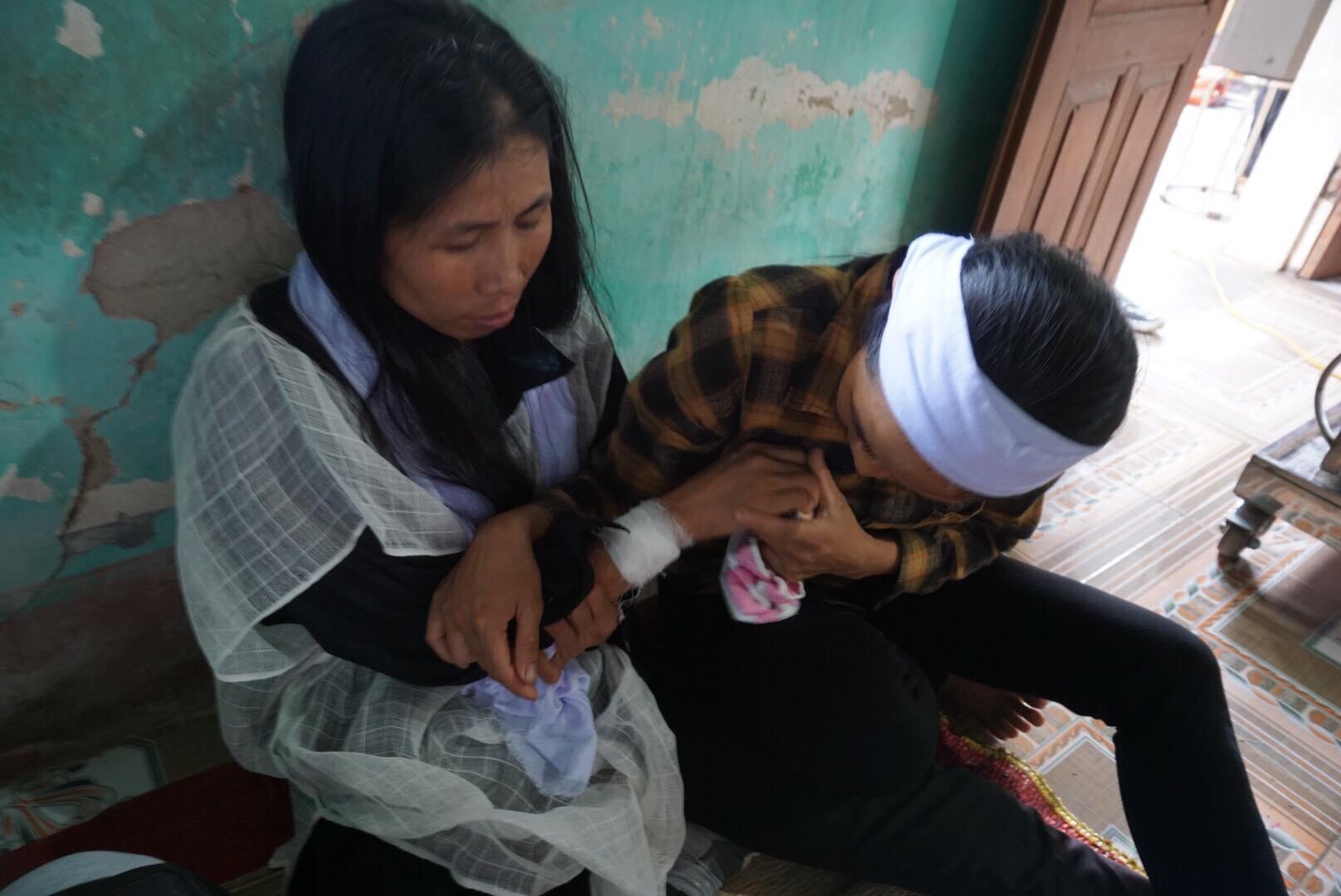 Hình ảnh Vụ 3 người trong gia đình bị sát hại ở Thái Nguyên qua lời kể của nạn nhân số 1