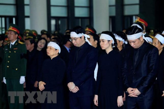 Gia đình Chủ tịch nước Trần Đại Quang cảm ơn sau lễ Quốc tang 1