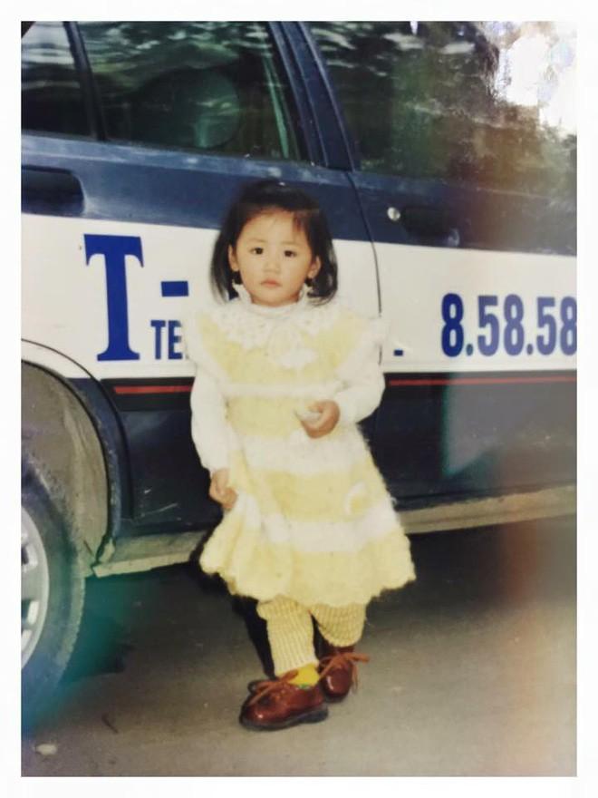 """Ngắm ảnh thời thơ ấu của sao Việt: Người đáng yêu, người gây bất ngờ với ngoại hình """"hai lúa"""" 7"""