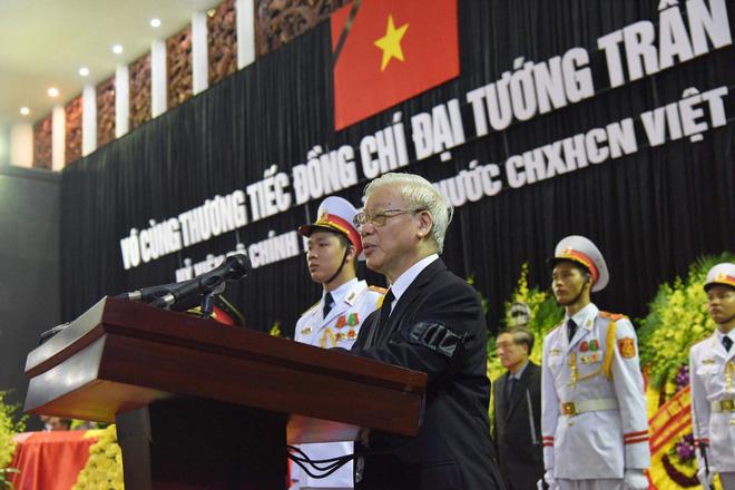 Toàn văn lời điếu tại Lễ truy điệu Chủ tịch nước Trần Đại Quang 1