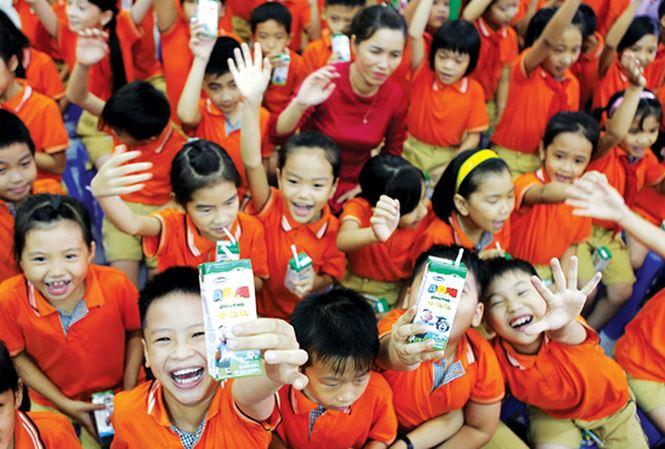 Hình ảnh Trường học ở Hà Nội không được tự quyết chọn sữa học đường số 2