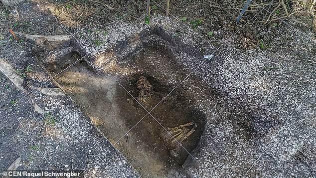 Phát hiện bộ xương 6.000 năm tuổi còn nguyên vẹn dưới cổng trường xây dựng 1