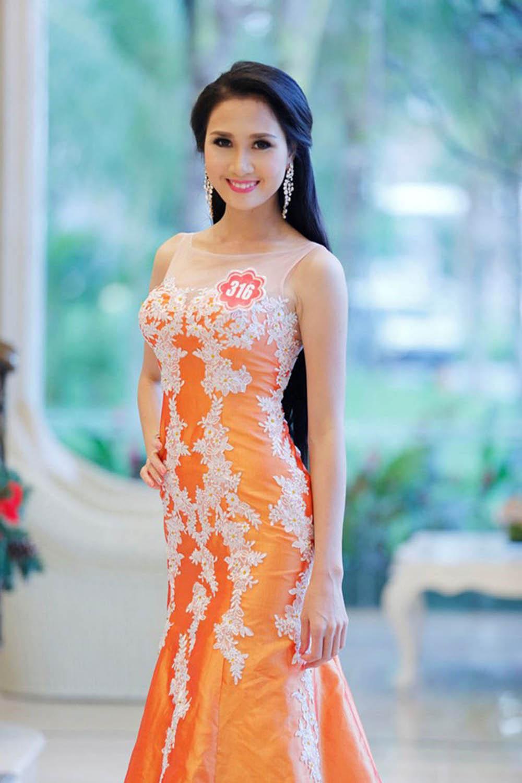 Nhan sắc người đẹp Nguyễn Thị Hà trước khi xuống tóc đi tu 2