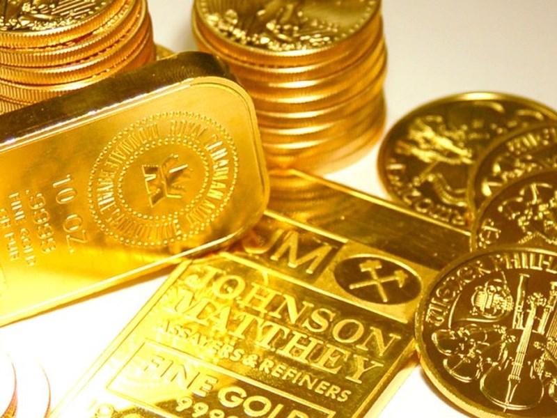 Hình ảnh Giá vàng hôm nay 1/10/2018: Vàng lại giảm tiếp khi USD tăng cao số 1