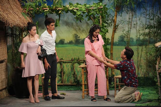 Ơn giời cậu đâu rồi: Chuyện tình Nhã Phương- Trường Giang bị mang lên sân khấu để chọc cười 1