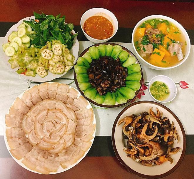 Chi 7 triệu/tháng tiền chợ cho nhà 4 người, mẹ đảm Sài Gòn ngày nào cũng nấu cơm nhà thịnh soạn, bố mẹ chồng mê tít 25