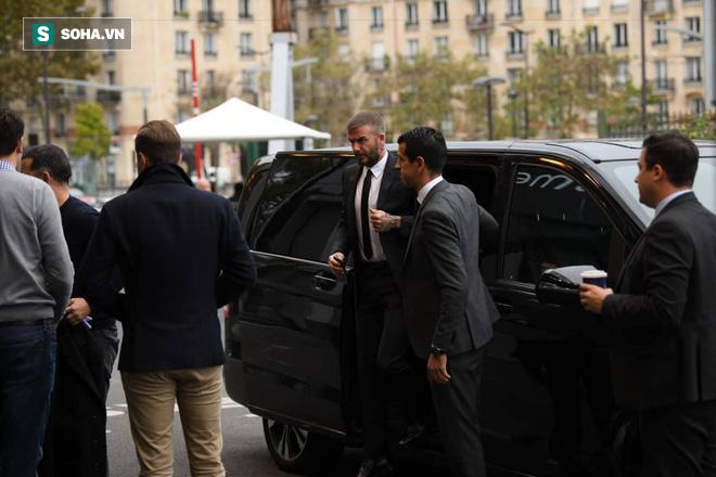 David Beckham chính thức xuất hiện, chuẩn bị cho lễ ra mắt xe hơi VINFAST 4