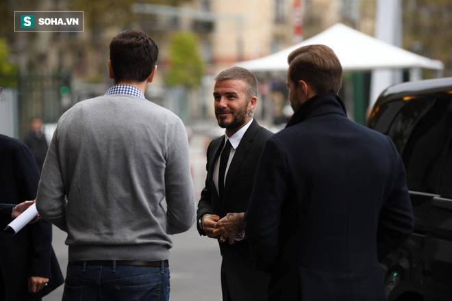 David Beckham chính thức xuất hiện, chuẩn bị cho lễ ra mắt xe hơi VINFAST 5