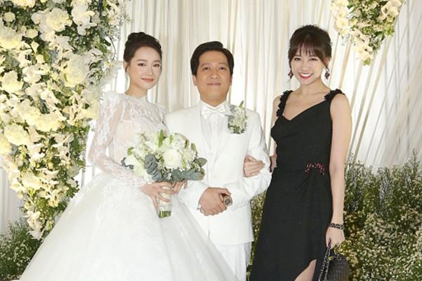 Vì sao Việt Hương, Cát Phượng, Lâm Vỹ Dạ không có mặt trong đám cưới Trường Giang? 1