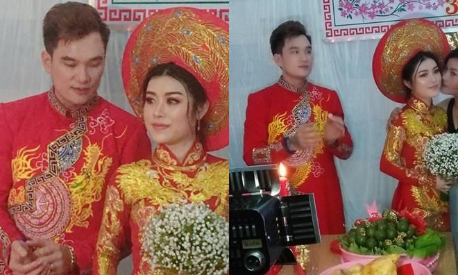 Ca sĩ hội chợ Lâm Chấn Huy làm đám cưới với cô dâu 9x kém 12 tuổi 2