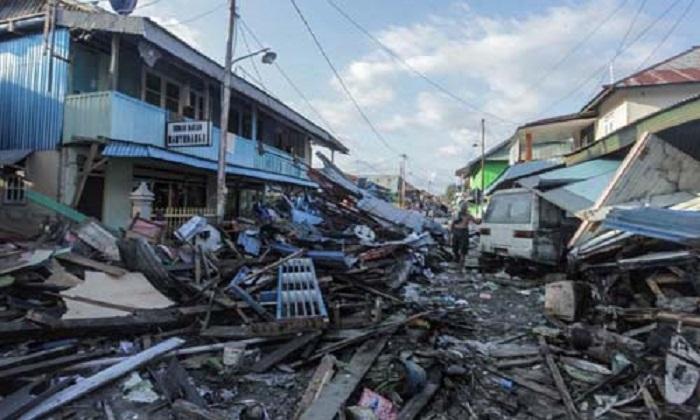 Thảm họa động đất, sóng thần ở Indonesia: Số người chết tăng lên 1.407 1