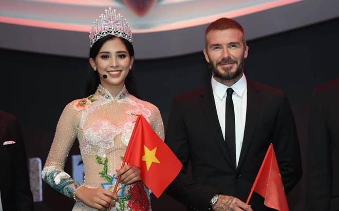 Điểm danh những mỹ nhân Việt từng may mắn sánh đôi với David Beckham 1