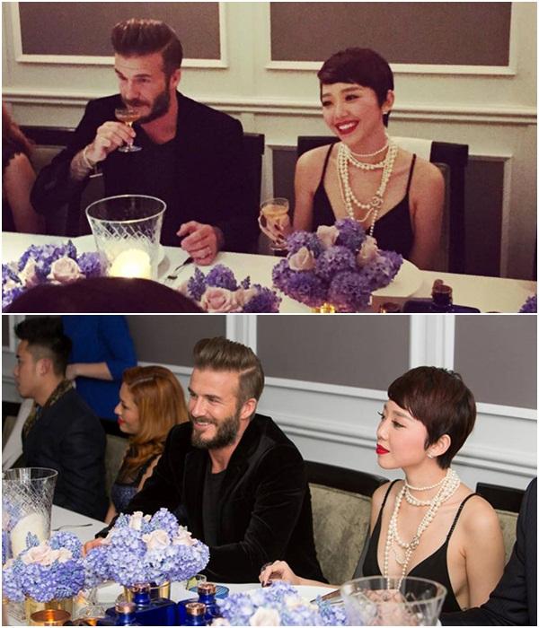 Điểm danh những mỹ nhân Việt từng may mắn sánh đôi với David Beckham 2