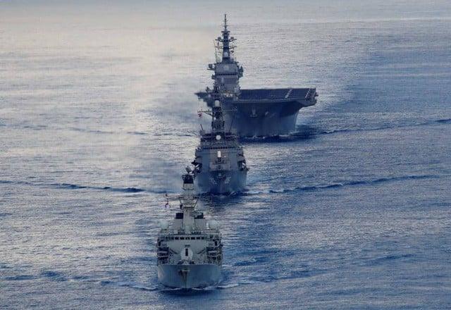 Trung Quốc đối mặt với áp lực khi các cường quốc dồn dập cử tàu chiến đến biển Đông 1