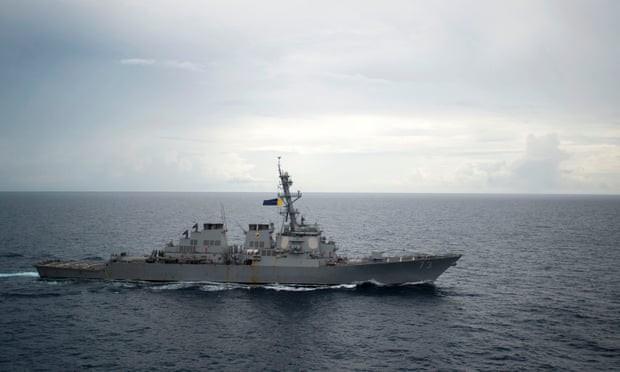 Trung Quốc đối mặt với áp lực khi các cường quốc dồn dập cử tàu chiến đến biển Đông 2