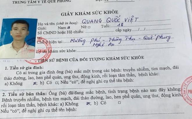 """Diễn biến mới nhất vụ nam sinh viên trường Sĩ quan Thông tin trả về vì kết luận """"lao phổi"""" 1"""