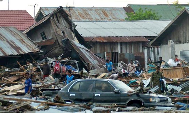 Hình ảnh Thảm họa kép ở Indonesia: Số nạn nhân thiệt mạng tăng vọt lên hơn 1.500 số 1